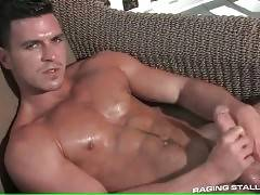 Hot Tough Stud Plays His Thick Cock 2