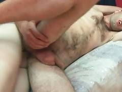 Hairy Man Gets Asshole Poked 1