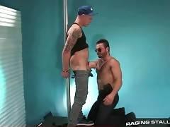 Horny Bear Tastes Friend`s Stiff Dick 3