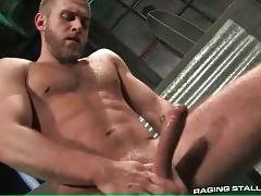 Two Hot Toned Guys Jerk Together 1