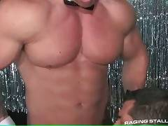 Handsome Stud Sucks Dick And Gets Poked 1