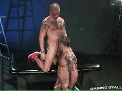 Muscled Friends Eager For Good Fucking 1