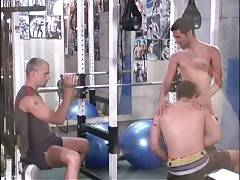 Tough Guys Do Their Work Out In Gym 3
